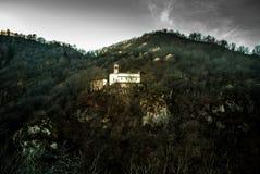 kyrkliga berg Arkivfoto
