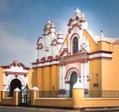 Kyrkliga Compañia de Jesus, Trujillo - Peru Arkivfoto