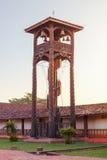 Kyrkliga Concepcion, jesuitbeskickningar i regionen av Chiquitos, Bolivia Royaltyfri Fotografi