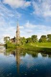kyrkliga copenhagen Royaltyfria Foton