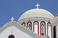 kyrkliga crete sitia Arkivfoto