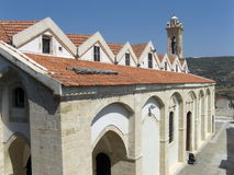 kyrkliga cyprus royaltyfri bild