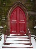 kyrkliga dörrar Royaltyfri Bild