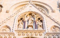 kyrkliga detaljer Fotografering för Bildbyråer