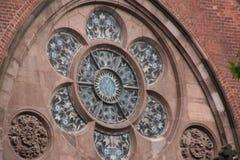 kyrkliga fönster Royaltyfri Bild