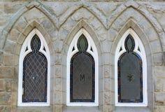 Kyrkliga fönster royaltyfri fotografi