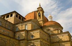 kyrkliga florence italy royaltyfri fotografi