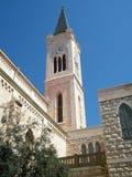 kyrkliga franciscan jaffa Royaltyfria Foton
