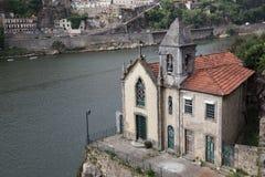 kyrkliga gammala porto portugal Royaltyfri Bild