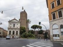kyrkliga gammala rome Arkivfoton