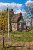 kyrkliga gammala sweden Arkivbilder