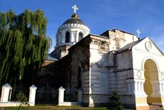 kyrkliga gammala ukraine Royaltyfria Bilder