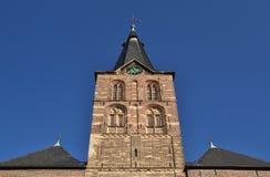 kyrkliga germany straelen tornet arkivbild