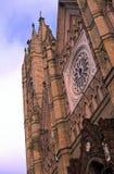 kyrkliga gotiska guadalajara mexico Fotografering för Bildbyråer