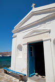 kyrkliga greece mykonos Royaltyfria Bilder