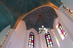 Kyrkliga Green Dome Royaltyfria Bilder