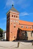 kyrkliga helga kyrkasweden trefaldighets uppsala Royaltyfri Fotografi
