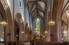 Kyrkliga Helga Trefaldighets Kyrka, Uppsala Royaltyfri Bild
