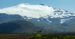 kyrkliga iceland royaltyfri foto