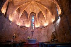 kyrkliga inomhus pals Royaltyfria Foton