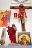 Kyrkliga inomhus symboler Royaltyfri Bild