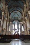 Kyrkliga inre Frankrike Royaltyfria Bilder