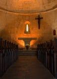 kyrkliga inre provence Royaltyfri Bild
