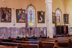 Kyrkliga Itatiba Sao Paulo Arkivbild
