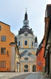 kyrkliga katarinakyrkan stockholm Royaltyfria Foton