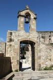 Kyrkliga Klocka för Kreta torn Arkivbild