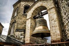 Kyrkliga Klocka i St John, Bigorski kloster i Makedonien Arkivbild