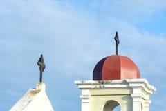 Kyrkliga Klocka kupol Arkivbild