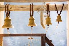 Kyrkliga klockor Arkivbild