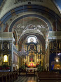 kyrkliga krakow för bernardine nunnor poland Royaltyfria Foton