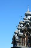 kyrkliga kupoler för kristen Arkivfoto