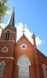 Kyrkliga kyrktorn Arkivfoto