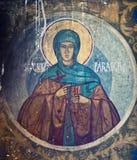 kyrkliga målningar royaltyfria bilder