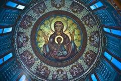 kyrkliga målningar royaltyfri bild