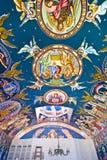 kyrkliga målningar stock illustrationer