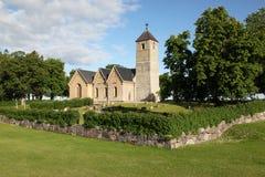 kyrkliga medeltida sweden Royaltyfria Bilder