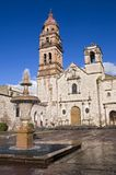 kyrkliga mexico morelia Arkivbild