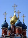kyrkliga moscow Royaltyfri Bild