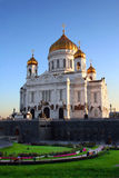 kyrkliga moscow russia arkivbild