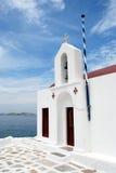 kyrkliga mykonos arkivfoton