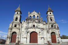 kyrkliga nicaragua royaltyfri fotografi