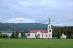 kyrkliga norway arkivbild