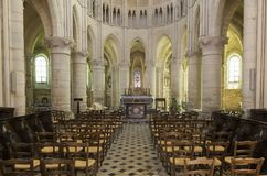Kyrkliga Orbais l ` Abbaye Royaltyfria Bilder