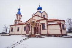 kyrkliga ortodoxa poland Fotografering för Bildbyråer