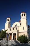 kyrkliga ortodoxa rethymnon Royaltyfri Fotografi