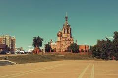 kyrkliga ortodoxa russia Arkivfoto